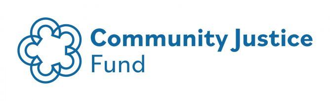Community Justice logo ÔÇö blue RGB